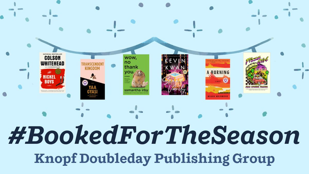 We're channeling all of our cozy energy to make this Winter extra special! ❄️  Hey @VintageAnchor & @doubledaybooks! You in? 😚✨📚  Check out what we're up to here 💻:   #BookedForTheSeason