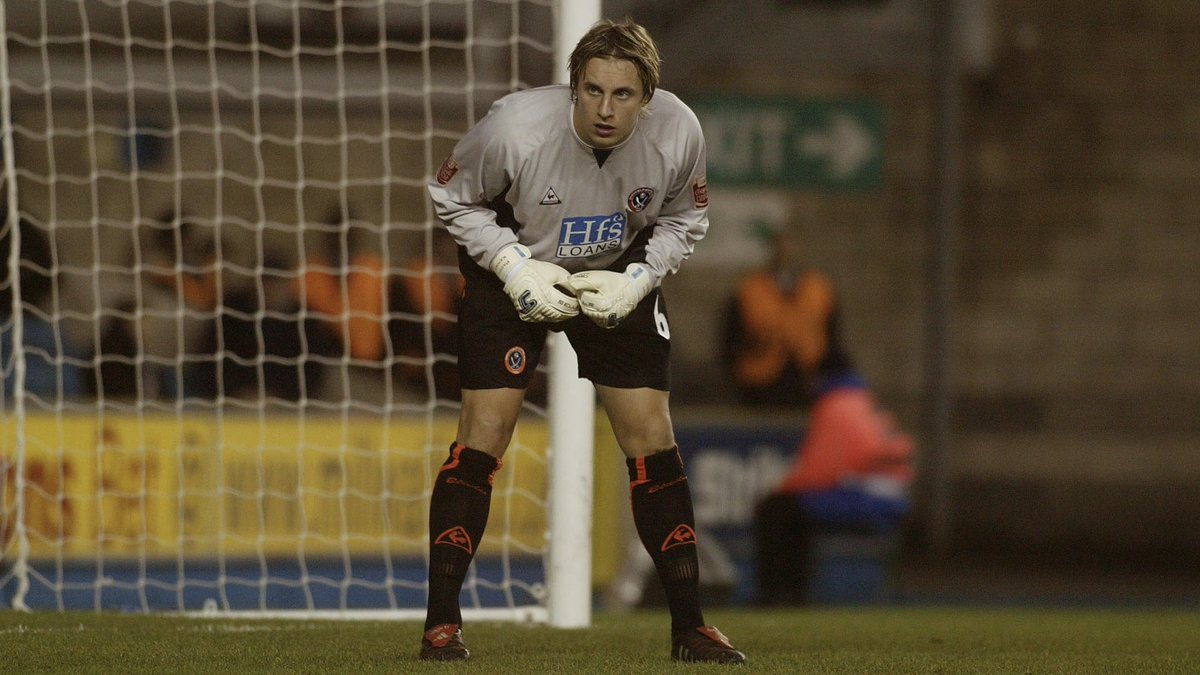 On this day in 2004. 📆  Phil Jagielka plays 45 minutes in goal as United come out on top in a dramatic game at Millwall. 👊