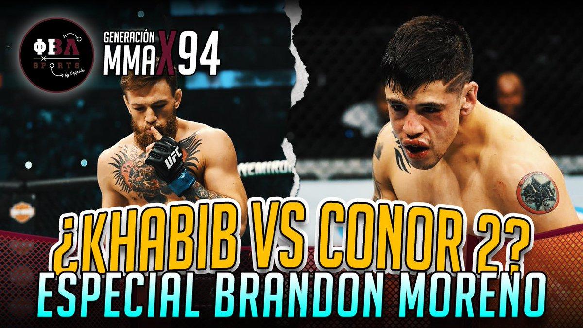 Ayer estrenamos un nuevo Generación MMA de @campos_gon con la previa del esperadísimo asalto al título del mexicano Brandon Moreno para #UFC256. Además se plantearon si veremos otra vez un #KhabibNurmagomedov vs #ConorMcGregor👇🏼
