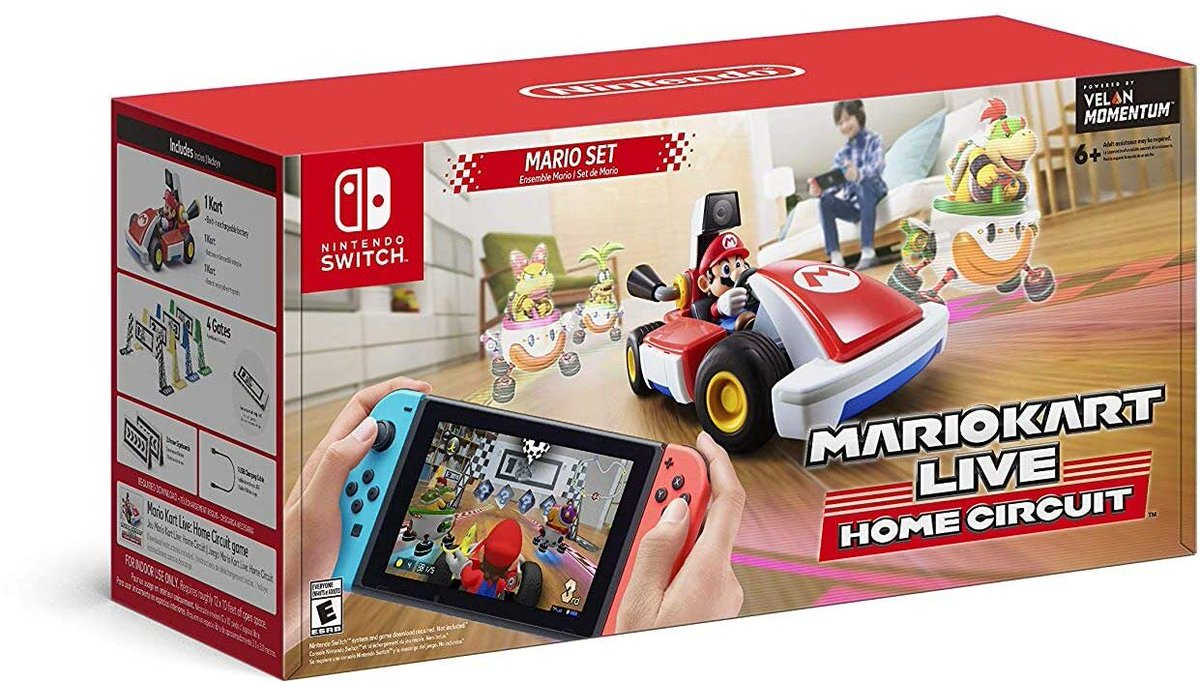 Mario Kart Live: Home Circuit (Switch) is up on Amazon: 2 $99 Mario set