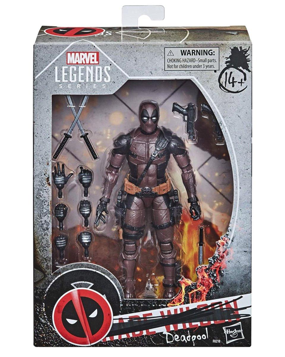 Preorder Now: Amazon exclusive #MarvelLegends Deadpool! #Hasbro #Ad .