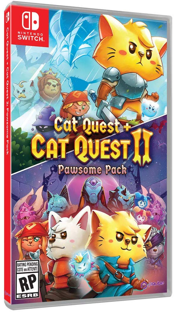 Cat Quest + Cat Quest II Pawsome Pack (Switch) is $19.93 at Walmart 2