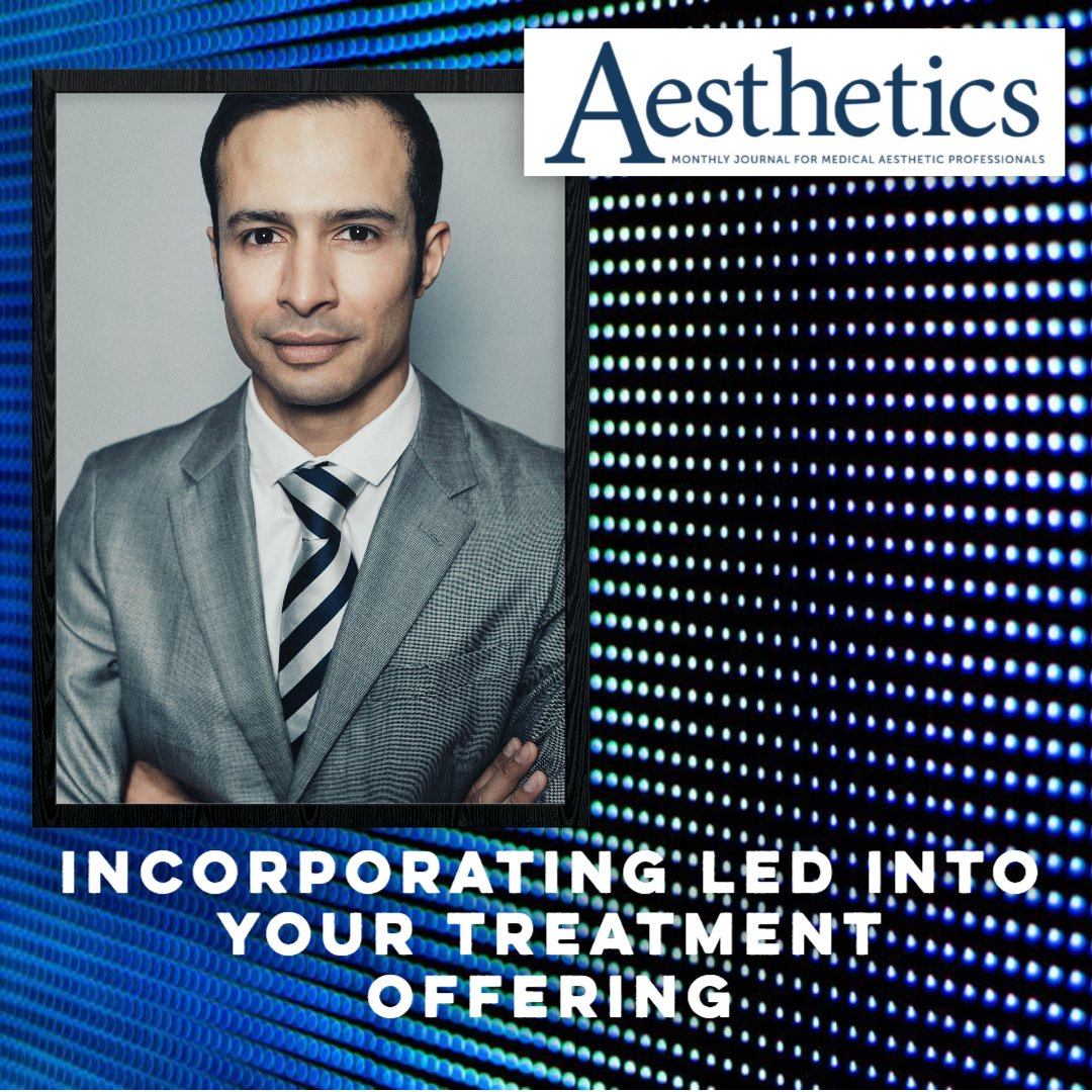 test Twitter Media - Aesthetic Training Academy Director Mr Simon Ravichandran MBChB.MRCS recently spoke to Aesthetics Journal about how to incorporate LED into your treatment offering. He also spoke to Aesthetics Journal as part of their 15-minute fix on Instagram Live!   https://t.co/6Hc2zblOrv https://t.co/wCmgRaD106