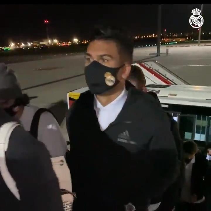 ✈️ We're off to Sevilla! #SevillaFCRealMadrid | #HalaMadrid