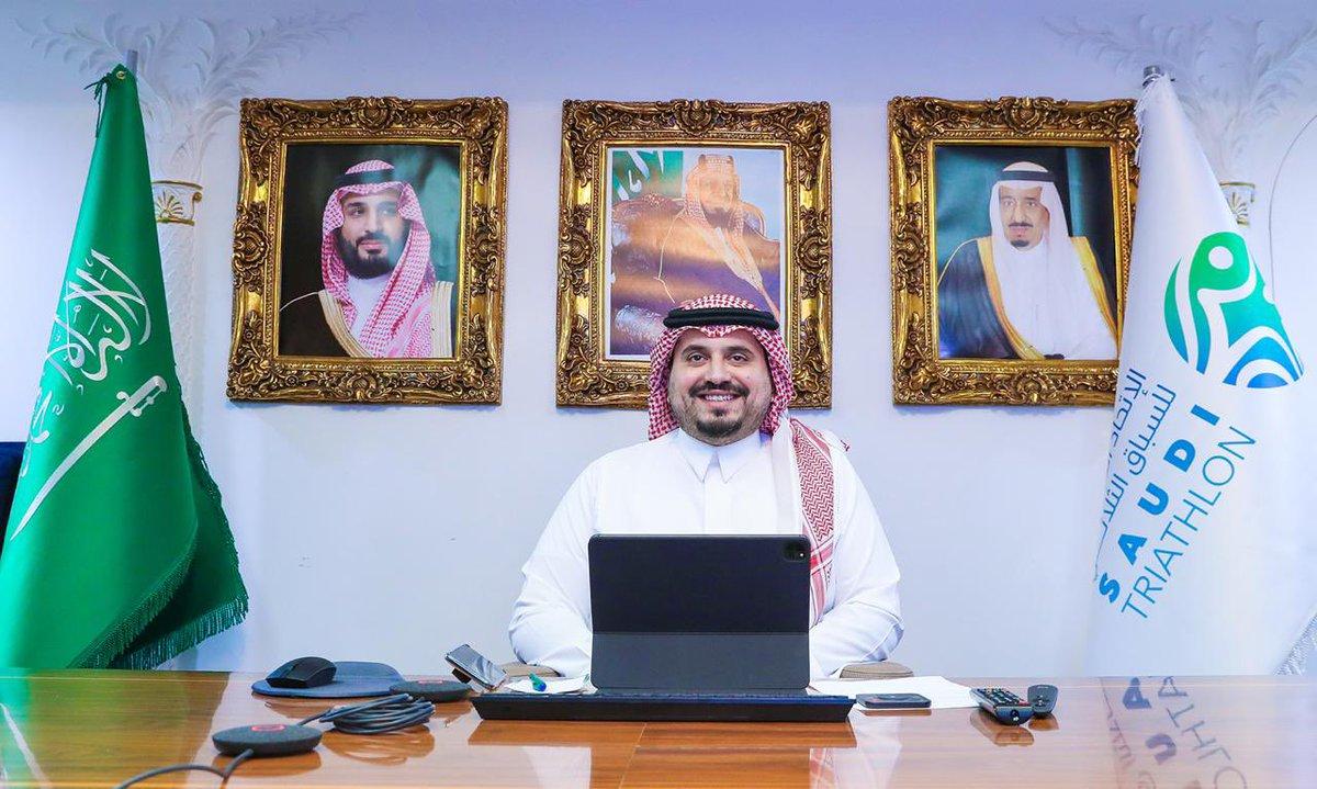 الأمير فهد بن جلوي رئيسا لاتحاد غرب اسيا لـ الترايثلون