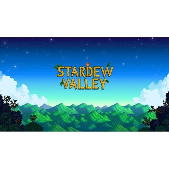 Stardew Valley for Switch (digital) is on sale for $11.99 at Best Buy. 2