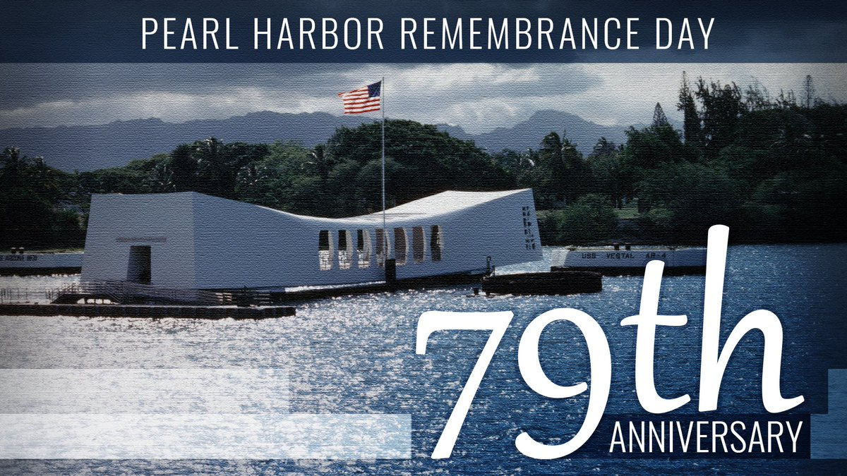 On this day, we remember the heroes who lost their lives during the #PearlHarbor attack in 1941 and the survivors who were forever shaped by the events on that day. #HonorThem #PearlHarbor79 https://t.co/Z2iH3z18kN