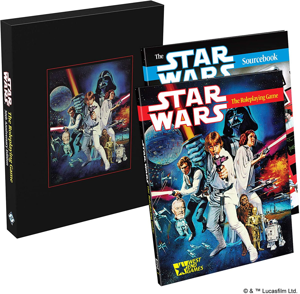 Star Wars: The Role Playing Game 30th Anniversary Edition   49% off  #ad    TGDrepost