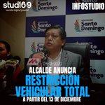 Image for the Tweet beginning: 🚨 ATENCIÓN🚨 Alcalde Wilson Erazo anunció