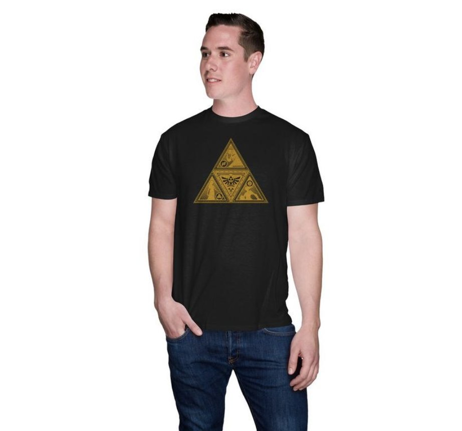 Today only: This Legend of Zelda Triforce T-Shirt is on sale for $9 at GameStop. 2