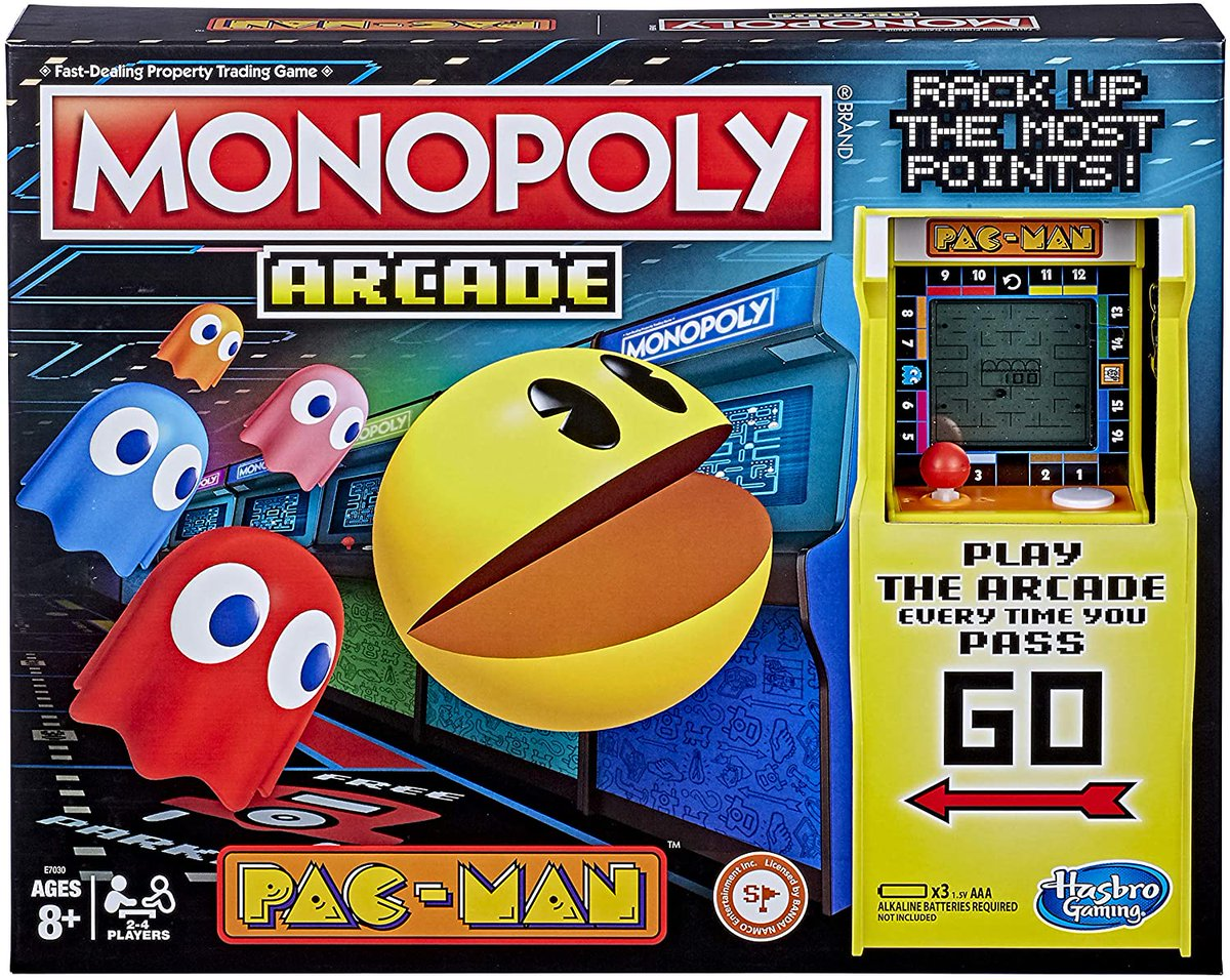 Monopoly Arcade Pac-Man Game Board Game is on sale for $15 on Amazon. Affiliate link: