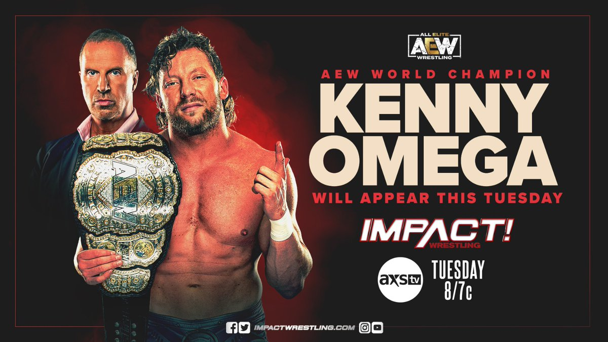 Kenny Omega Officially Announced For Next Week's Impact Episode