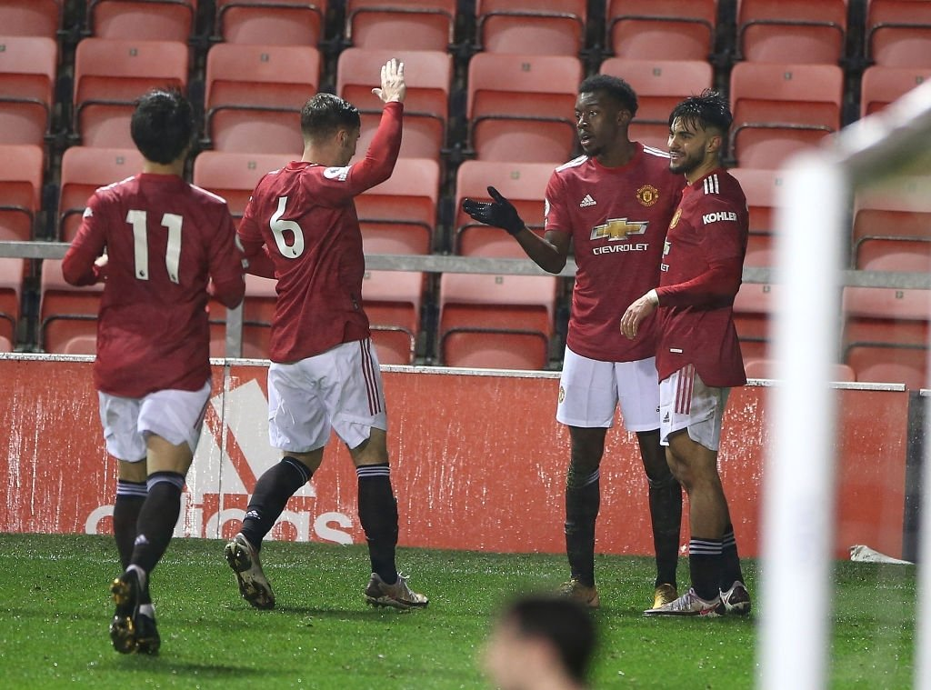 Full-time!  #MUFC U-23s 3-1 Southampton U-23s  Elanga, Pellistri and Puigmal on the scoresheet for United. All of the goals were a result of pretty nice teamwork! Good job lads 👊🏼  #MUAcademy #ManUtd