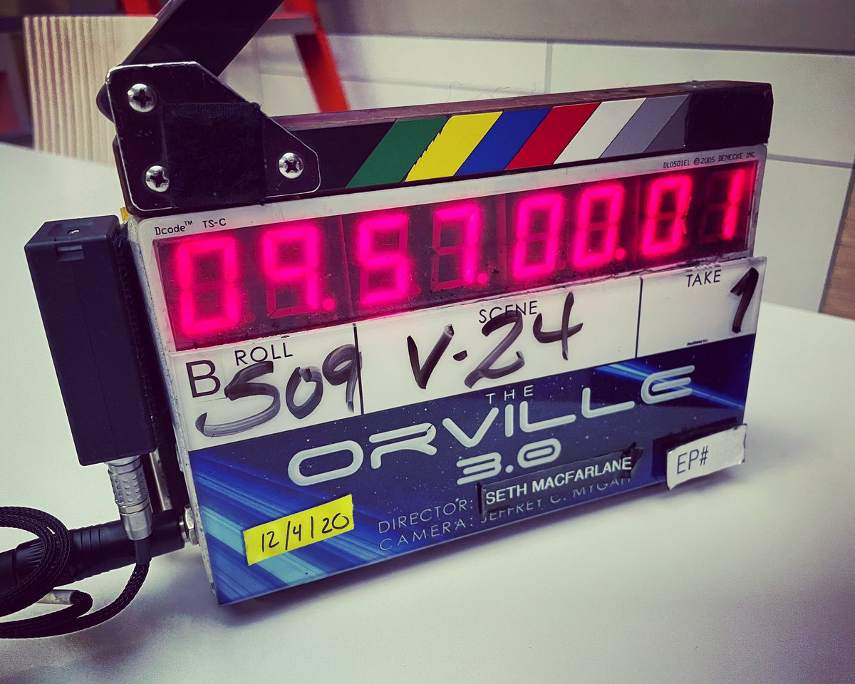 And we're back! Season 3 filming has officially started. #TheOrville 💫