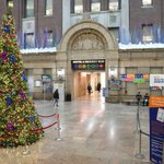 Image for the Tweet beginning: .@BellevueHosp holiday decorations are up!