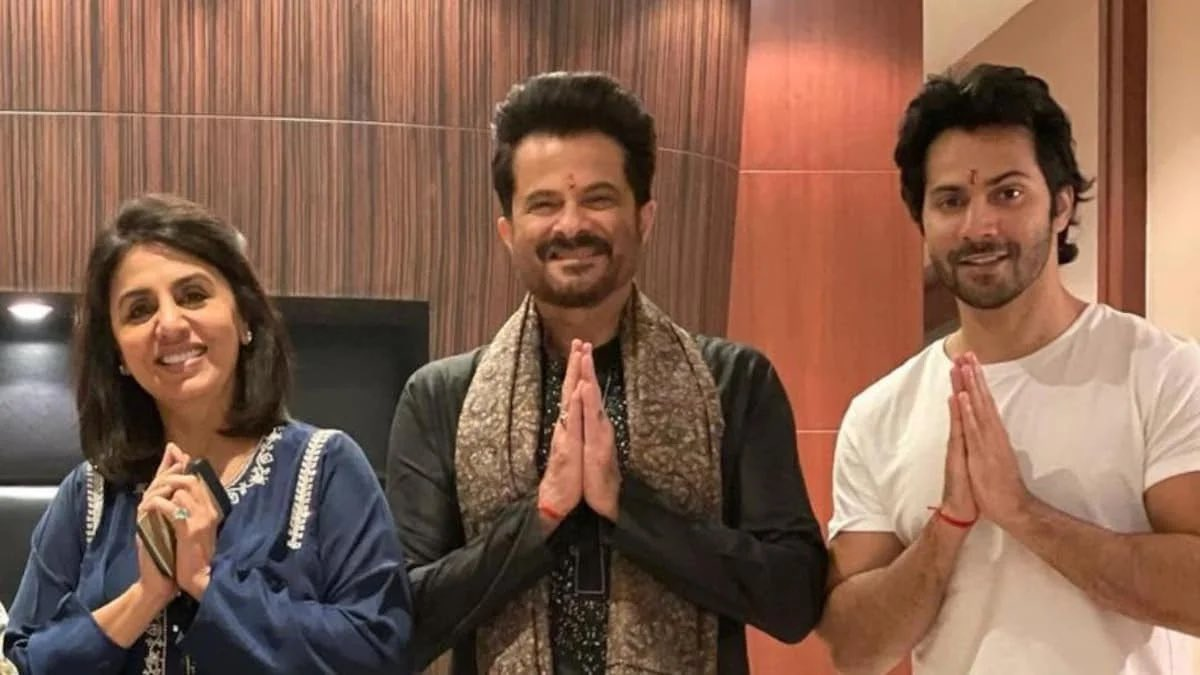 Lyca 💚💙 #VarunDhawan, #AnilKapoor and #NeetuKapoor and director #RajMehta have tested positive for #COVID19 while shooting for #JugJuggJeeyo , shooting has been put on hold. #GetWellSoon 🙏🏼