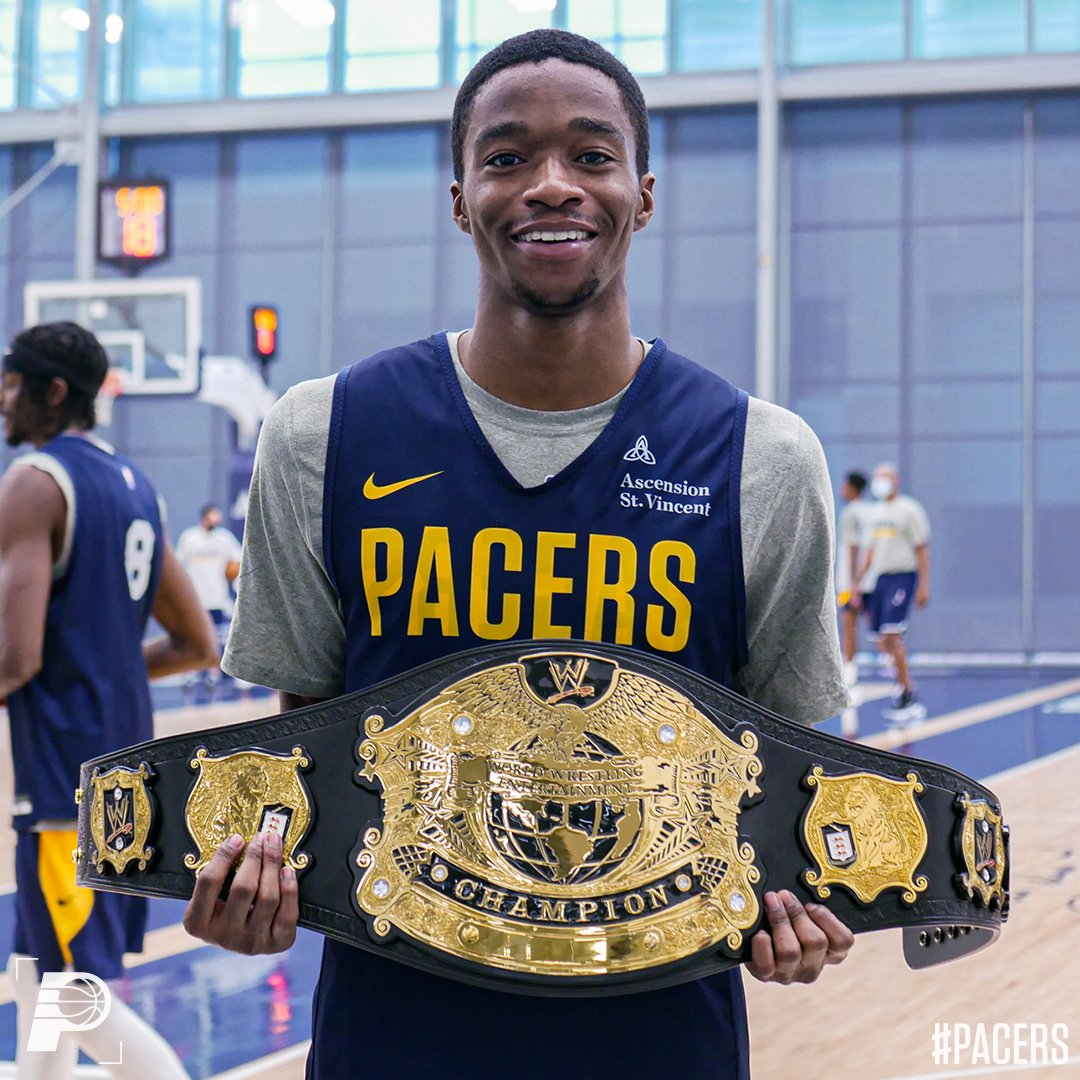 for deflecting the most passes in today's practice, @EdmondSumner was named the champ 🏆👏