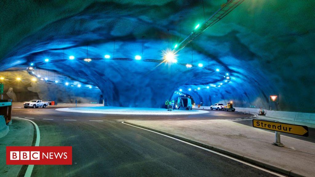 Faroe Islands: Inside the under-sea tunnel network  The under-sea tunnel network cuts journey times between two islands by a half.  https://t.co/RWdzaeP2ob  #News  #BreakingNews https://t.co/G2Q3W6yD4w
