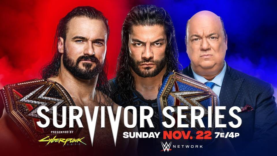 """⏩always great to watch @WWEAsuka vs @SashaBanksWWE matches. I'm impressed to the new @WWERomanReigns character! So rude, so aggressive, so no more fake good boy It smell about @TripleH heel type.keep going big dog! @WWE #SurvivorSeries ❗"""" Recover WWE Wrestling Week""""❗⏸"""
