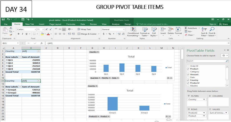 DAY 34/63 days of learning #Excelskills.  #Data #Datascience #Excel #MSEXCEL #PersonalDevelopment.   #Focus #Persistence #datamanagement  #analytics  #machinelearning #statistics #microsoft #dataanalytics #business #database #Excel https://t.co/STlV5wiRES