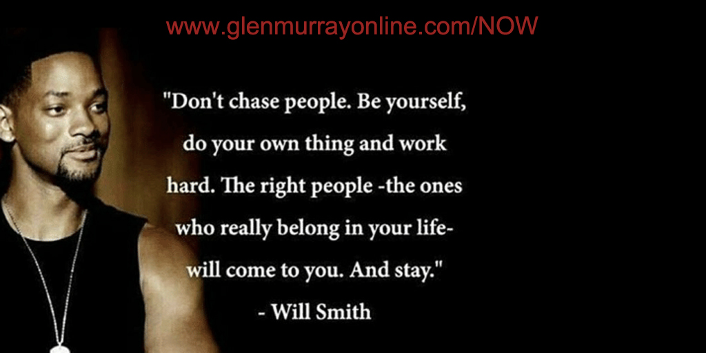 Don't chase people. Be yourself, do your own thing and work hard. The right people - the ones who really belong in your life - will come to your. And stay.  #Focus #authentic success makemoneyonline #makemoneyfromhome https://t.co/FSDPtjW094