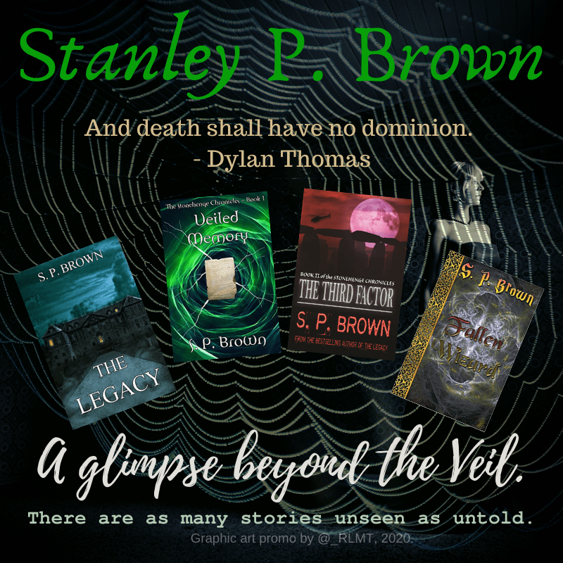 """Some claim they walk among us. An alternate reality, or echoes of their connections to our earthly plane. @StanleyPBrown tells stories beyond the veil, where """"death shall have no dominion."""" https://t.co/jj1A7ATCVb  #paranormal #ghost #novel #spooky #eerie #stories #books https://t.co/m2xHL2obeN"""