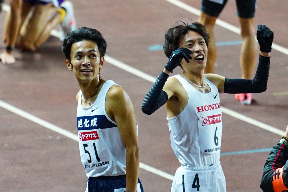 旭化成 相澤 晃 相澤晃選手のフォームは、身長175~180cmランナーのお手本と言えるほどの綺麗さ