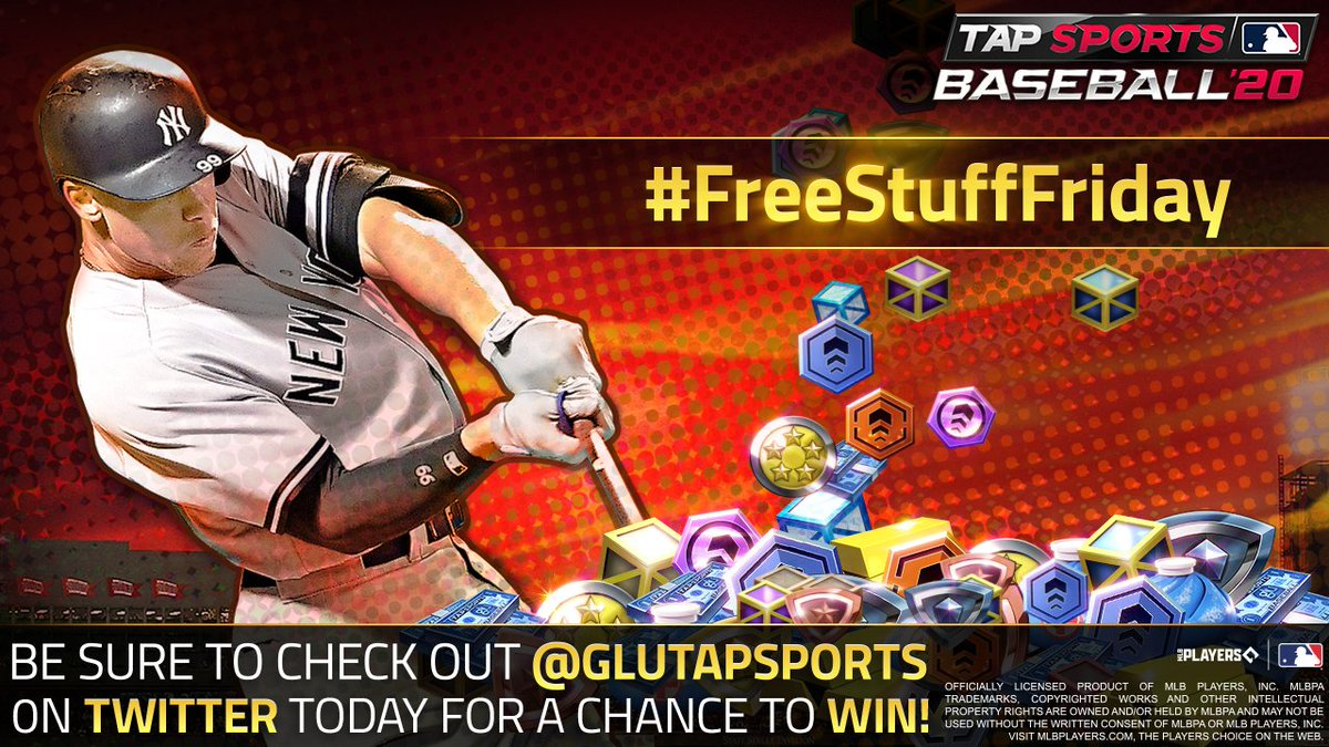 It's #FeelGoodFriday, so let's feel good about #FreeStuffFriday!   50 lucky fans who RT this tweet with their TSB20 username, the hashtags #FeelGoodFriday and #FreeStuffFriday, and before 5:00 PM PT will win 10 Fully Loaded Boxes!