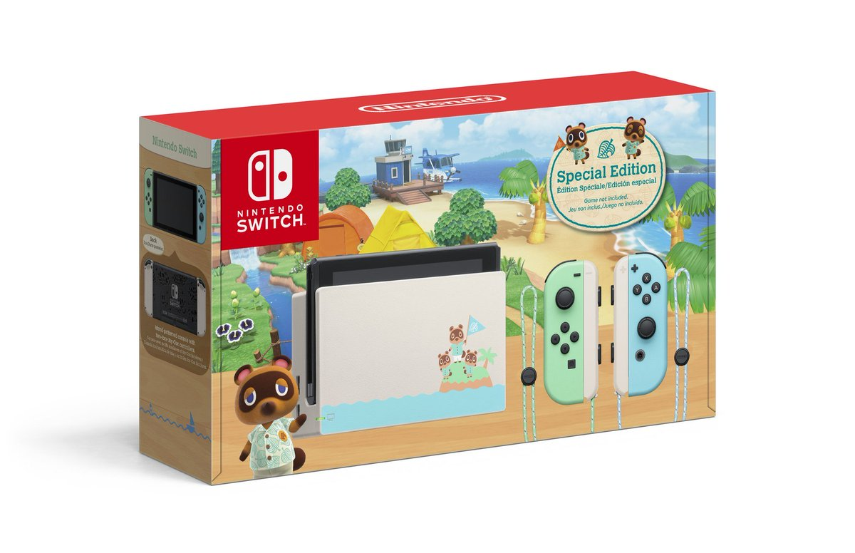 Nintendo Switch - Animal Crossing: New Horizons Edition available at Walmart ($299) 2