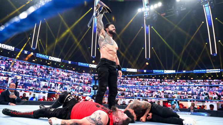 Check alle #SmackDown- hoogtepunten!   ▶️