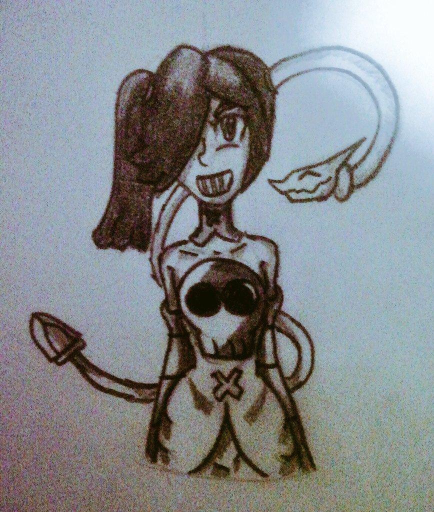 Una bonita Squigly para terminar la semana uwu  #skullgirls #SkullgirlsMobile #drawing
