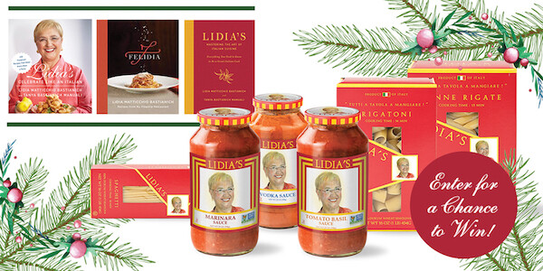 Hungry? 🍝  Us too 😉  💻 Enter for a chance to win a @LidiaBastianich Prize Pack: