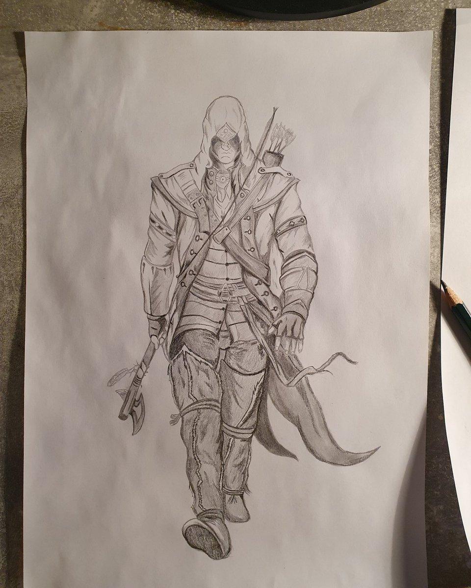 #AssassinsCreedValhalla #assassinscreed #Connor #drawing