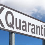 Image for the Tweet beginning: There's now a shorter quarantine
