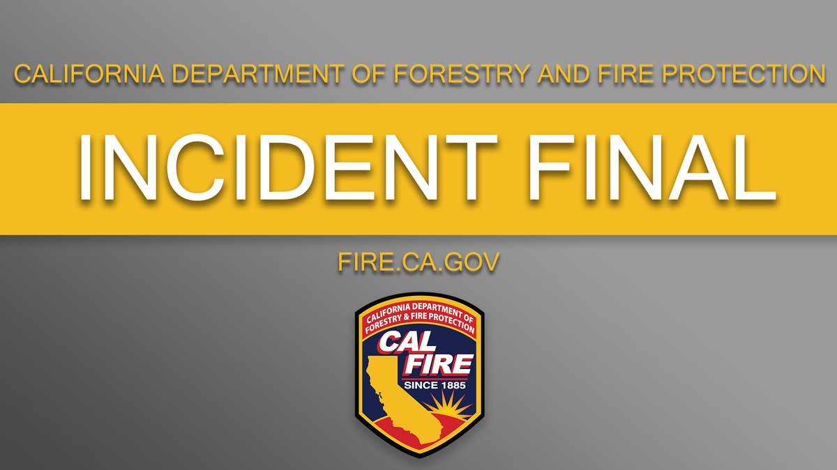 Image posted in Tweet made by CAL FIRE on December 5, 2020, 2:46 am UTC
