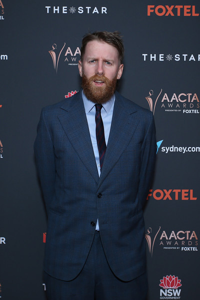 Here's a photo from the red carpet at the #AACTAs up in Sydney this week. Photo by Getty, outfit by my Grandad and Target...