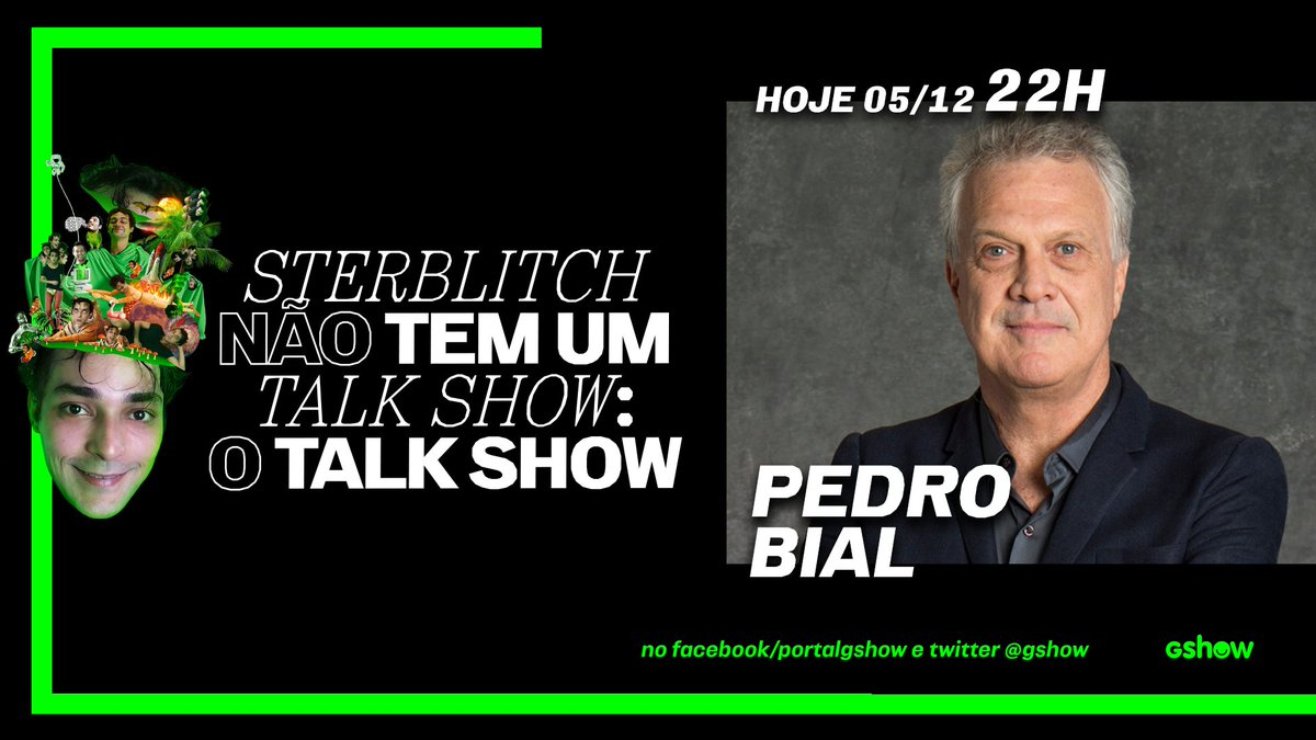 É HOJE!  No #NTem1TalkShow deste sábado, @edu recebe @PBiaL e o papo promete ser incrível! 🤩 É às 22h aqui no meu Twitter e no meu Facebook. Envie sua pergunta e participe da plateia virtual →   @globoplay