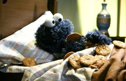 Friday night and it #NationalCookieDay... Me one very happy monster!