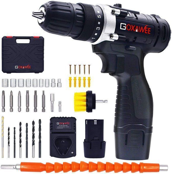 Cordless Drill Bundle for only $32!!!  *coupon PLUS code; 20A2Q9EG   2