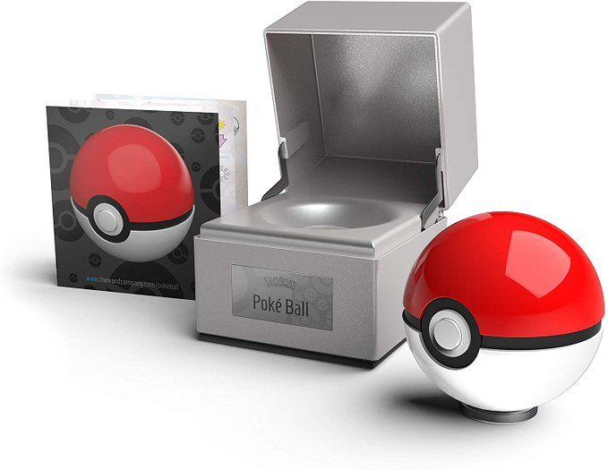 Pokémon Electronic Die-Cast Poké Ball Replica  2