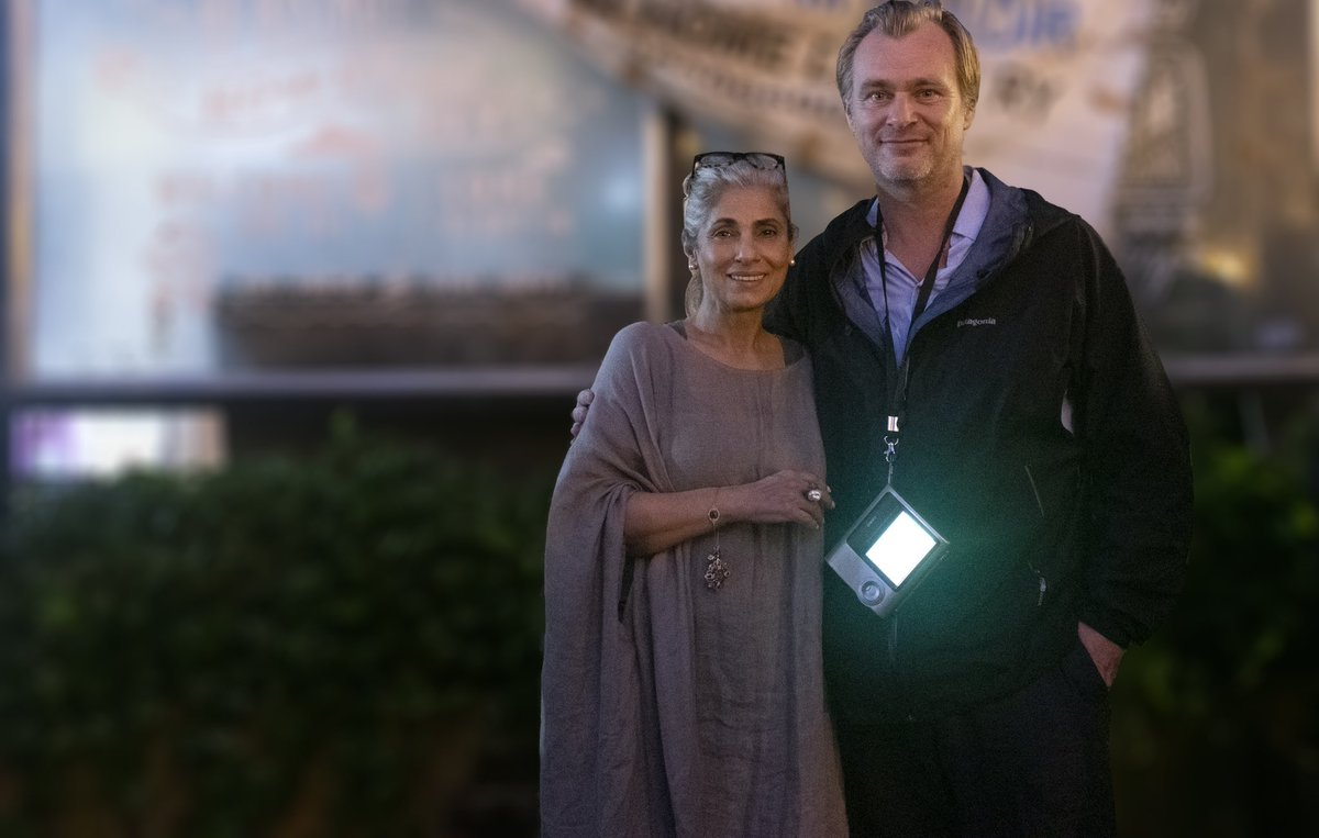 Here's my proud son-in-law moment! #ChristopherNolan pens a heartfelt note to #DimpleKapadia on the eve of their release.Had I been in her place,I wouldn't have been able to move in awe but having watched her working her magic in #Tenet,I couldn't be more happy and proud of Ma ♥️