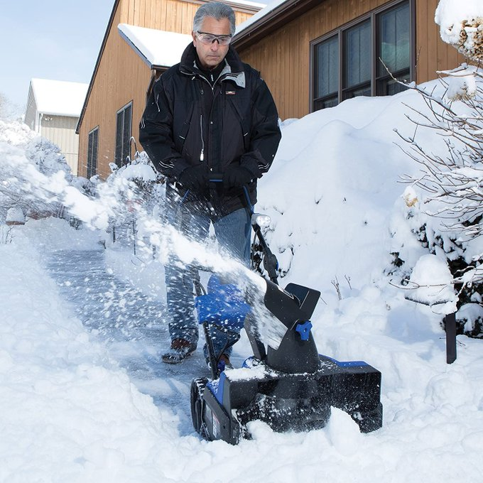 Snow Joe Snowblower for $189, retail $399!!  2