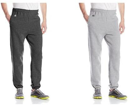 STEAL!!  2 pack of Russell Athletic Fleece Sweatpants for $12, retail $40+!!  2