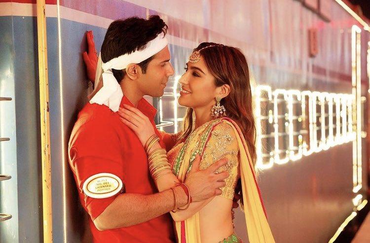 They are beautiful 🥺❤️  |#SaraAliKhan #VarunDhawan #CoolieNo1|