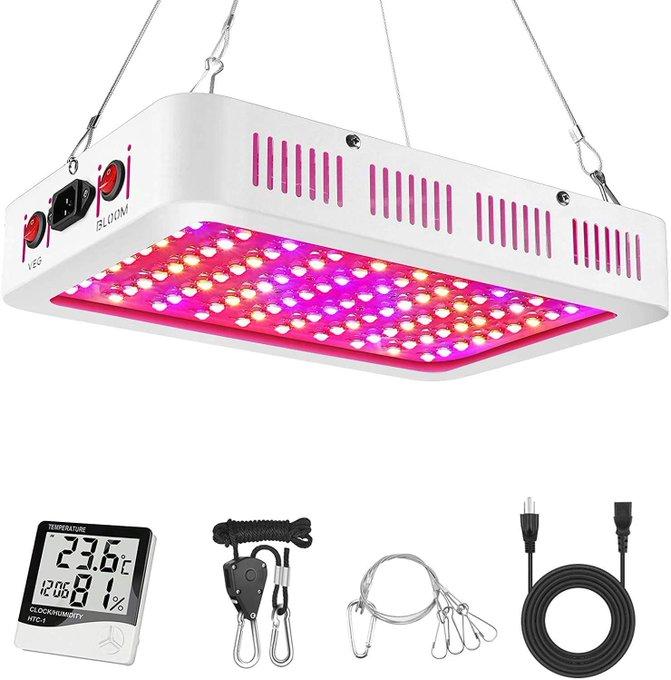 1000W LED Grow Light for $55.99!  *coupon PLUS code; 15BWUEU7  2