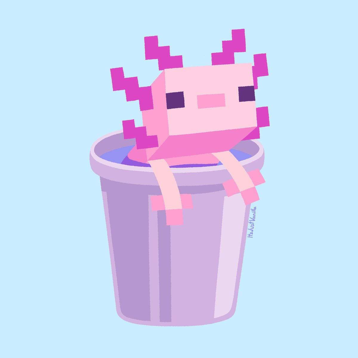 JWhisp - Thinking about: The Minecraft Axolotl