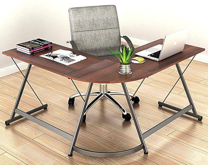 L Shaped Office Desk for $88.87!  2