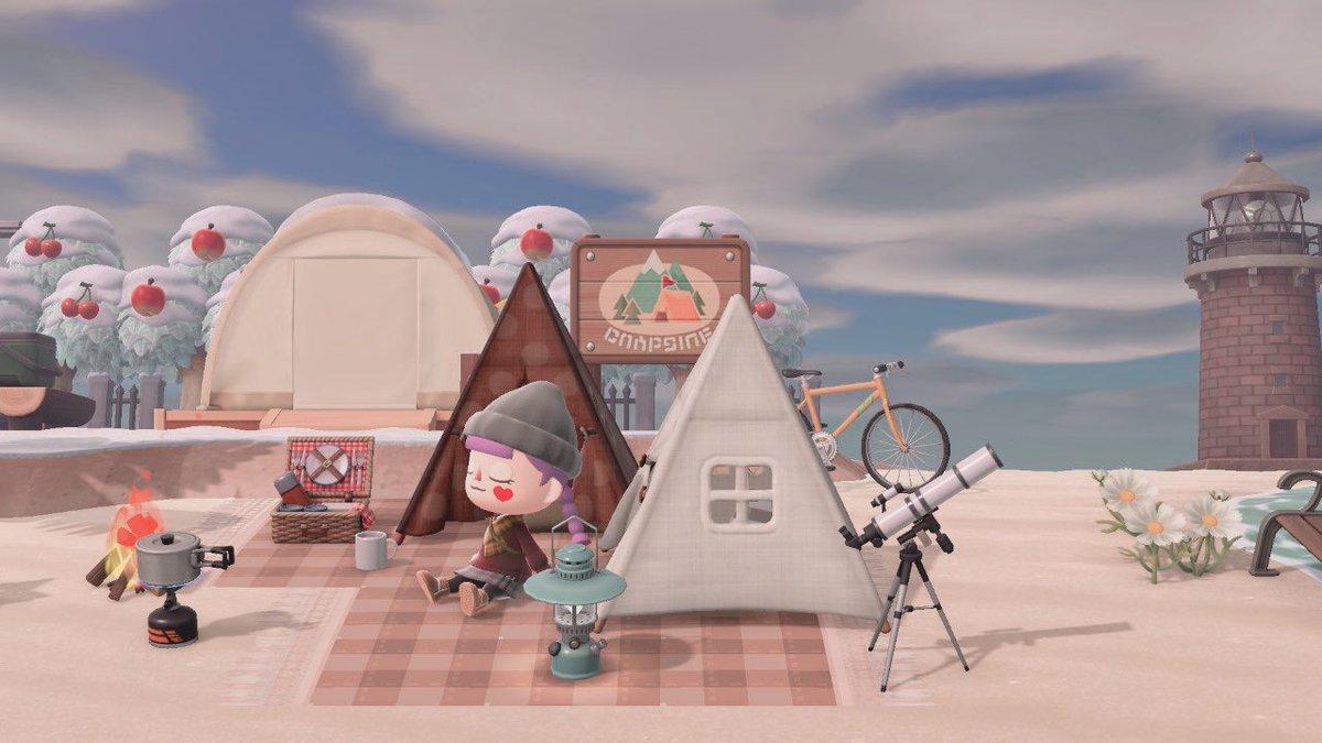 テント あつ 森 【あつまれ どうぶつの森】テントのおすすめ場所と色変更・移動方法【あつ森】