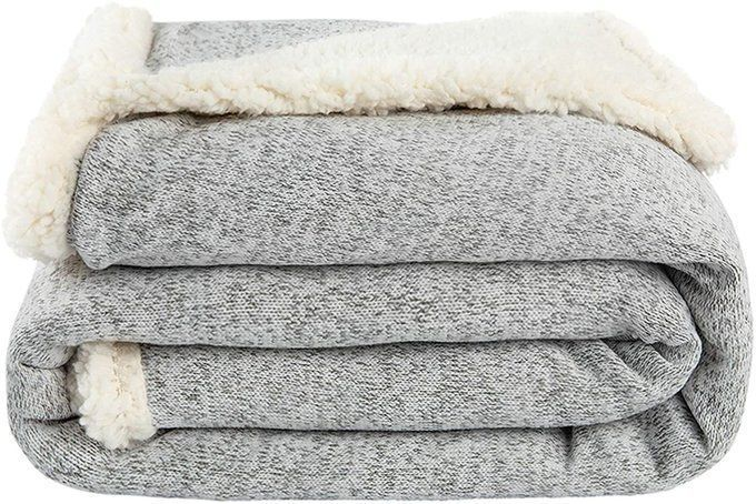 Sherpa Throw Blanket for $19.49!  Use promo code; 50D5OZK6  2