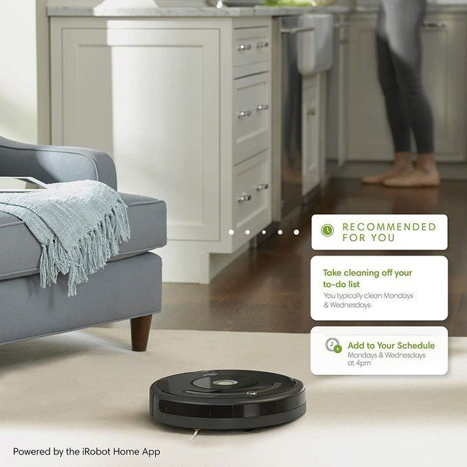 Grab a Roomba for only $134!!  *Open box return- comes with warranty!  2